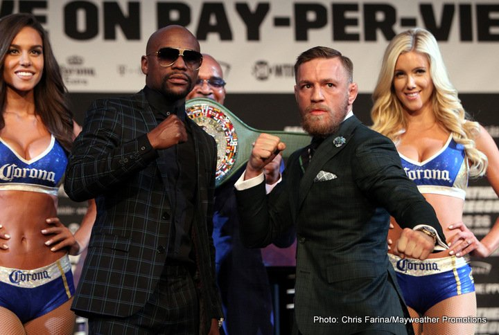 Conor McGregor Floyd Mayweather Jr Boxing News Top Stories Boxing