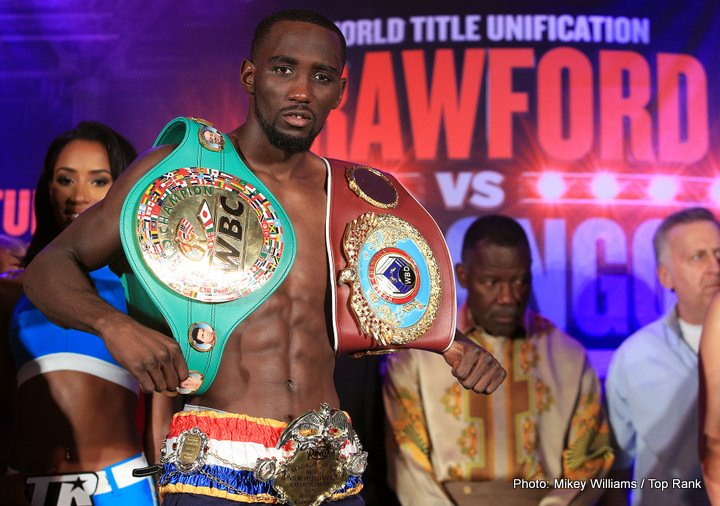 Sergey Lipinets Terence Crawford Boxing News Top Stories Boxing