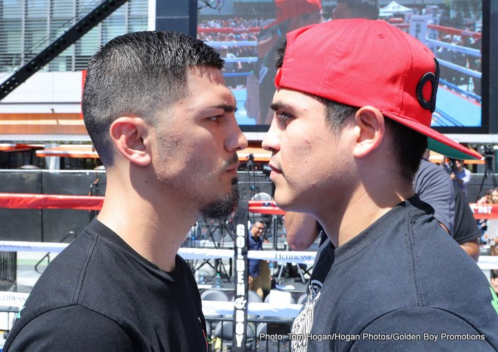 """Jorge Lara - More than 20,000 fans at T-Mobile Arena and millions watching on HBO Pay-Per-View and www.RingTV.com will be treated to a stacked undercard line-up in support of the Sept. 16 showdown between lineal and Ring Magazine Middleweight World Champion Canelo Alvarez (49-1-1, 34 KOs) and WBC/WBA/IBF/IBO Middleweight World Champion Gennady """"GGG"""" Golovkin (37-0, 33 KOs)."""