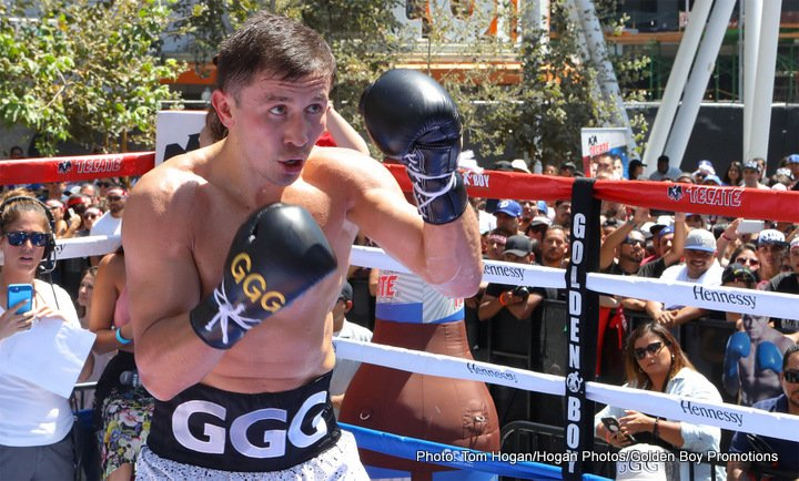 """Gennady Golovkin, Saul """"Canelo"""" Alvarez - The final quarter of the year will soon be here, and we boxing fans have quite a lot of good stuff to look forward to. But in the opinion of most fight fans there are two big match-ups – one set, the other still in the works but seemingly very promising in terms of being signed – that are most anticipated."""