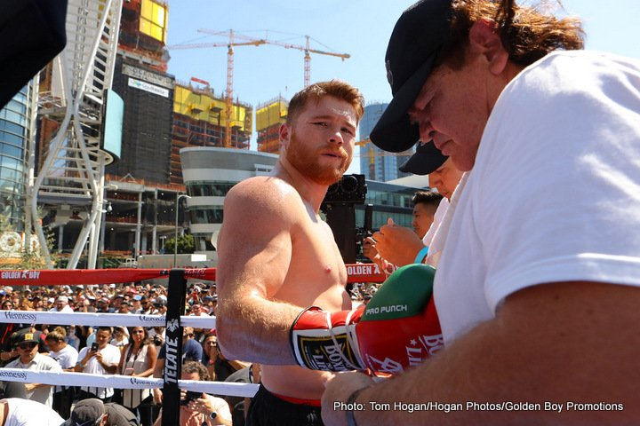 """Gennady Golovkin, Saul """"Canelo"""" Alvarez - A dominant victory over GGG will put you among the best Mexican fighters ever. Did you ever think that was possible? Who were the fighters you grew up watching and how does it feel to be compare to some of them?"""