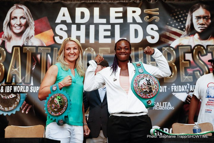 Claressa Shields Nikki Adler Boxing News
