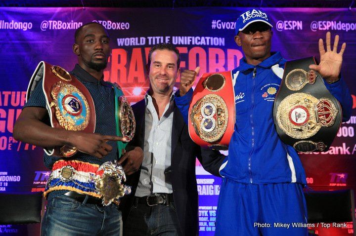 Julius Indongo Terence Crawford Boxing News