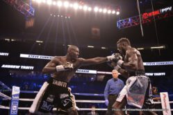 """Badou Jack, Francisco Fonseca, Gervonta Davis, Nathan Cleverly - Gervonta """"Tank"""" Davis defeated unbeaten challenger Francisco Fonseca via a controversial eighth-round knockout 39 seconds into the round."""