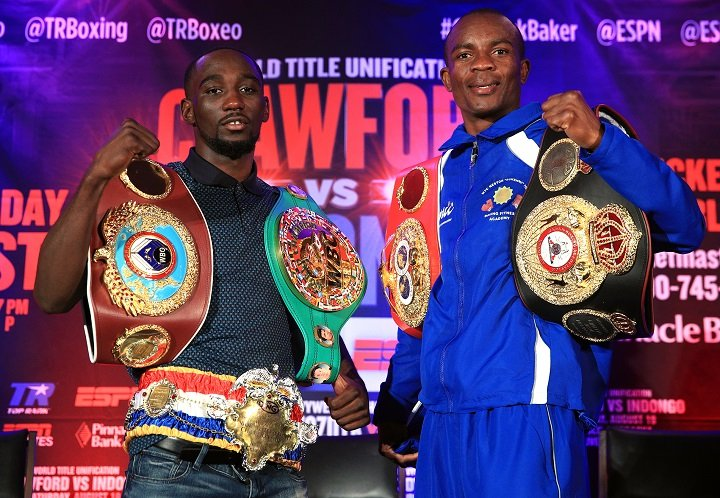 Crawford vs Indongo: Sovereignty at 140