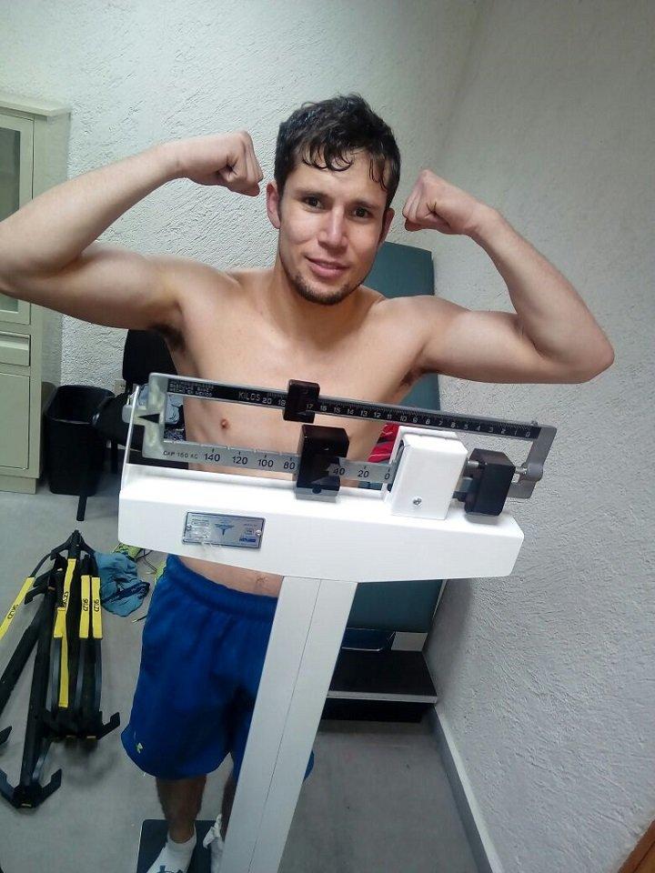 Carlos Cuadras Juan Francisco Estrada Press Room