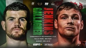 Chris Jenkins - CHRIS JENKINS INSISTS that defending his British title - as well as competing for the vacant Commonwealth title - on away soil against Paddy Gallagher makes absolutely no odds to him at all.