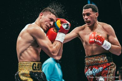 David Benavidez Ronald Gavril Boxing News Boxing Results