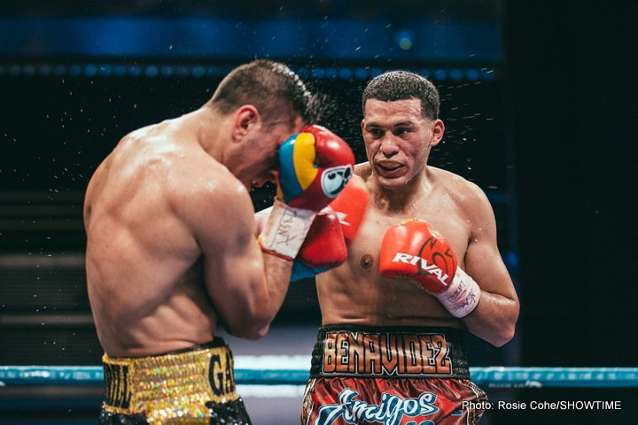 Benavidez re-signs with Sampson Boxing