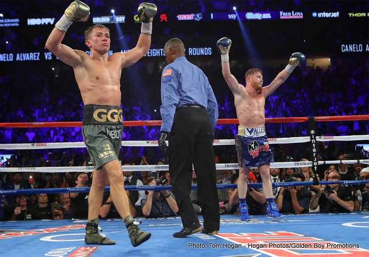 "Tom Loeffler - Tom Loeffler of K2 Promotions is optimistic that he can put together a rematch between middleweight champion Gennady ""GGG"" Golovkin (37-0-1, 33 KOs) and Saul ""Canelo"" Alvarez (49-1-2, 34 KOs) for May 5 on Cinco de Mayo next year."