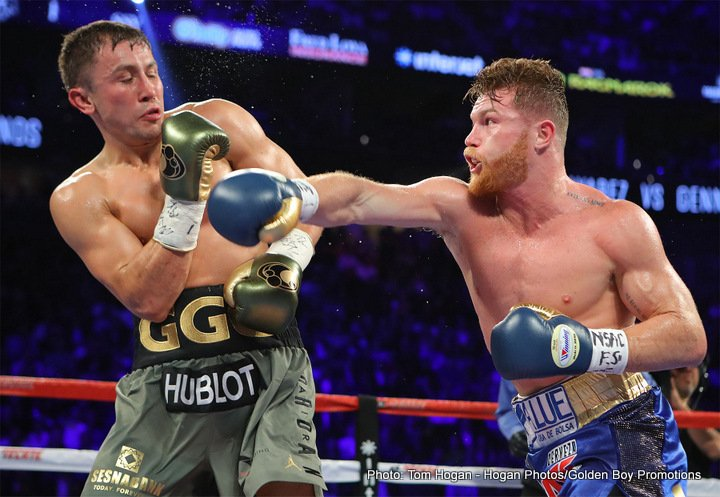 Canelo-Golovkin: The Draw of the Year: Some Thoughts and a Round by Round Review
