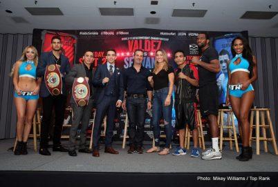 Gilberto Ramirez Jesse Hart Óscar Valdez Boxing Interviews Boxing News