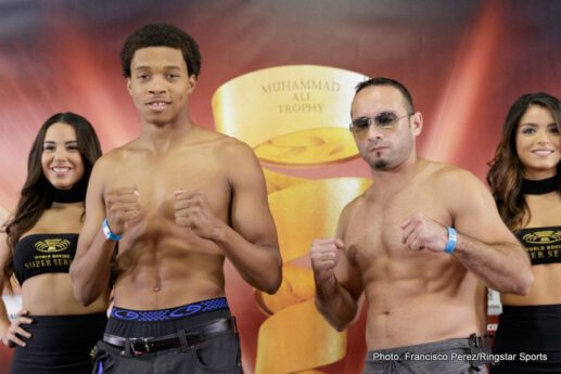 Dmitry Kudryashov, Yuniel Dorticos - Fight week in San Antonio officially kicked-off as Yunier Dorticos and Dmitry Kudryashov went face-to-face Wednesday at the final press conference before their Saturday, September 23 World Boxing Super Series cruiserweight quarterfinal showdown taking place at the Alamodome.