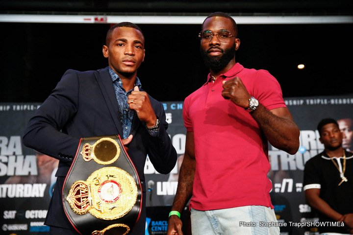 Austin Trout - Six of the top 154-pound world champions and contenders will look to put on a show for the fans in New York as they prepare to enter the ring for a SHOWTIME CHAMPIONSHIP BOXING tripleheader Saturday, October 14 from Barclays Center, the home of BROOKLYN BOXING®.