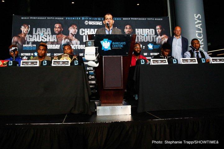 Austin Trout Erickson Lubin Erislandy Lara Jarrett Hurd Jermell Charlo Terrell Gausha Boxing News