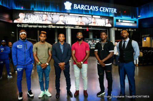 Austin Trout, Erickson Lubin, Erislandy Lara, Jarrett Hurd, Jermell Charlo, Terrell Gausha - Six of the top 154-pound world champions and contenders will look to put on a show for the fans in New York as they prepare to enter the ring for a SHOWTIME CHAMPIONSHIP BOXING tripleheader Saturday, October 14 from Barclays Center, the home of BROOKLYN BOXING®.