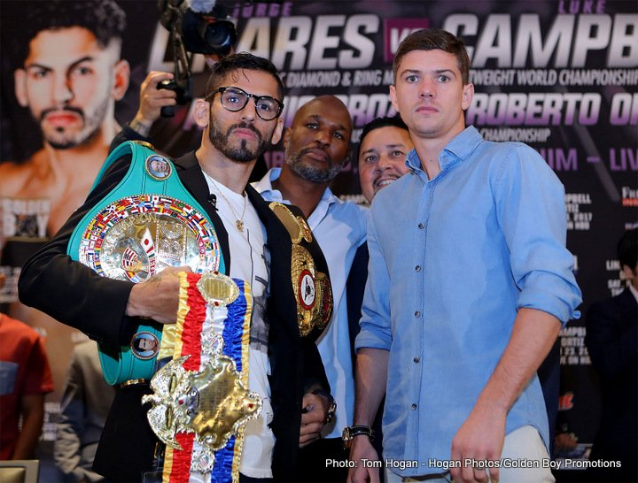 Jorge Linares Luke Campbell Boxing News British Boxing