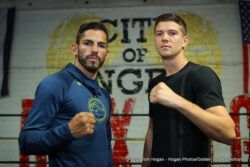 "Jorge Linares, Luke Campbell - Jorge ""El Niño de Oro"" Linares (42-3, 27 KOs), WBA, WBC Diamond, and Ring Magazine World Lightweight Champion, will defend all three of his titles on Sept. 23 when he takes on Luke Campbell (17-1, 14 KOs), No. 1 contender and Olympic Gold Medalist in a battle for the ages. Linares will make his triumphant return stateside after three years away to defend his titles against a formidable opponent. The event takes place Saturday, Sep. 23 at the 'Fabulous' Forum in Inglewood, California and will be televised live on HBO World Championship Boxing® beginning at 10:00 p.m. ET/PT."
