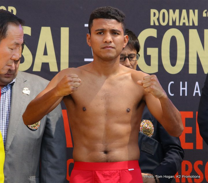 Roman Gonzalez Srisaket Sor Rungvisai Boxing News Top Stories Boxing