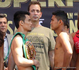 Roman Gonzalez Srisaket Sor Rungvisai Boxing News