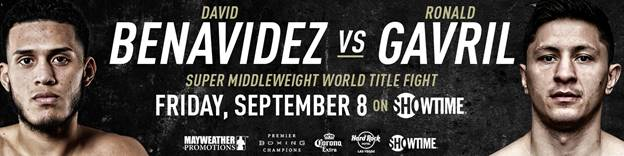 David Benavidez and Ronald Gavril talk this Friday's fight