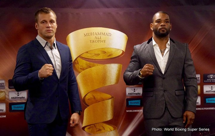 Mairis Briedis, Mike Perez - Briedis and Perez face to face in Riga before September 30