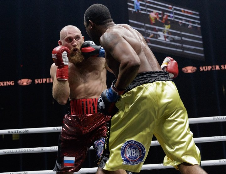 Yuniel Dorticos - Last night is San Antonio, it was a case of, 'As Advertised.' Fighting in The World Boxing Super Series tournament, cruiserweight bangers Yunier Dorticos of Cuba and Dmitry Kudryashov of Russia met in center ring and basically traded bombs from the very start.