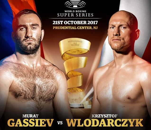 """Krzysztof Wlodarczyk, Murat Gassiev - Already a two-time cruiserweight world champion, Krzysztof """"Diablo"""" Wlodarczyk will seek to become a champion a third time, and also put himself into the World Boxing Super Series cruiserweight semi-finals, when he battles IBF Champion Murat Gassiev on Saturday, October 21 in quarter-final action from Prudential Center in Newark, N.J and live on AT&T AUDIENCE Network."""