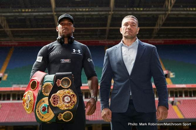 Anthony Joshua Kubrat Pulev Boxing News