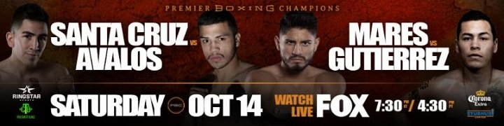 Abner Mares Andres Gutierrez Chris Avalos Leo Santa Cruz Press Room