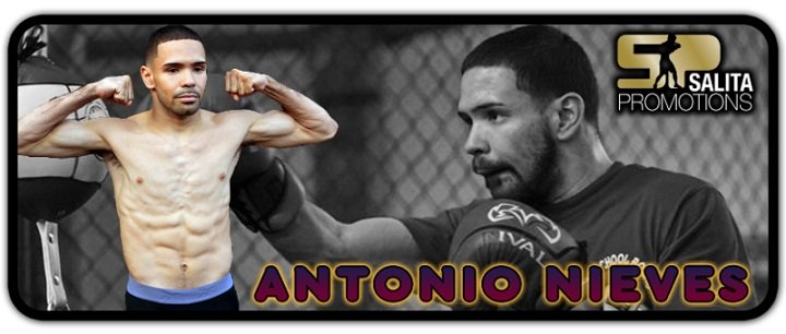 "Antonio Nieves - Cleveland's Antonio ""Carita"" Nieves is going into his first world title fight having grown up watching the kind of damage a movie monster from Japan can inflict."