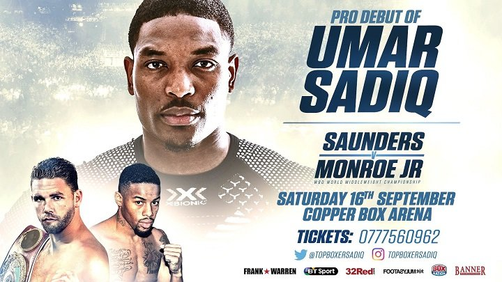 Billy Joe Saunders Umar Sadiq Willie Monroe Jr. Press Room