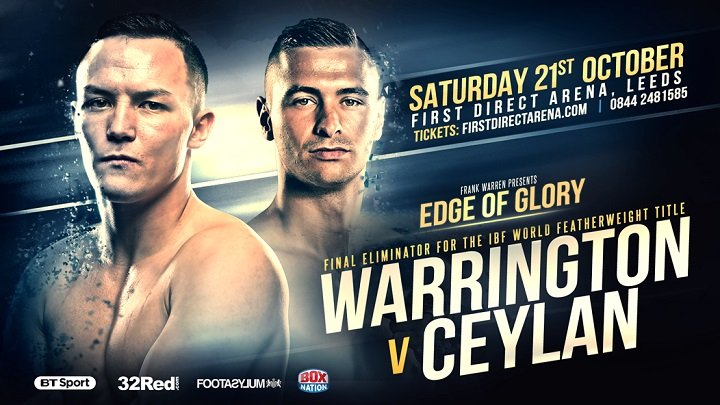 Dennis Ceylan - Glynn Evans had a fascinating chat with Dennis Ceylan who meets Leeds hero Josh Warrington in a IBF featherweight title final eliminator at the First Direct Arena on October 21, where the winner is assured of a world title fight.