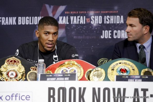 Anthony Joshua Carlos Takam Boxing News British Boxing Top Stories Boxing