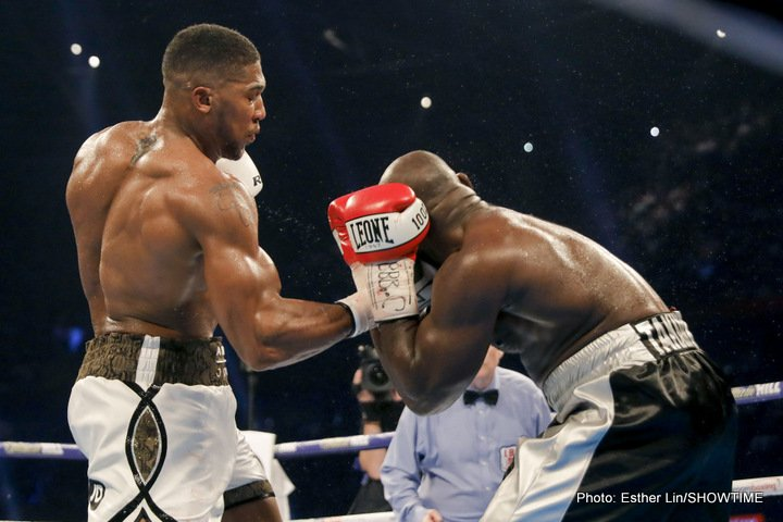 Anthony Joshua Carlos Takam Boxing News