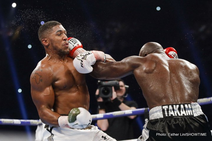 Anthony Joshua Joseph Parker Boxing News British Boxing