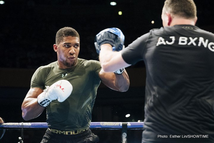 Anthony Joshua - Nick Molloy is a world record holder in more than one sport - He knows a little bit about Strength and Conditioning