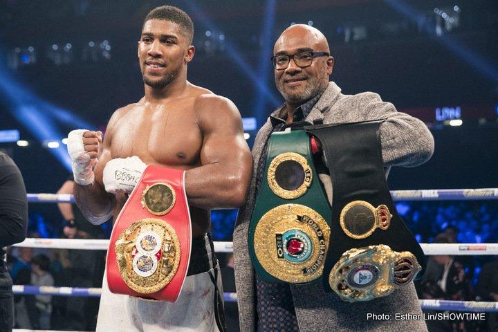 Anthony Joshua Boxing News British Boxing