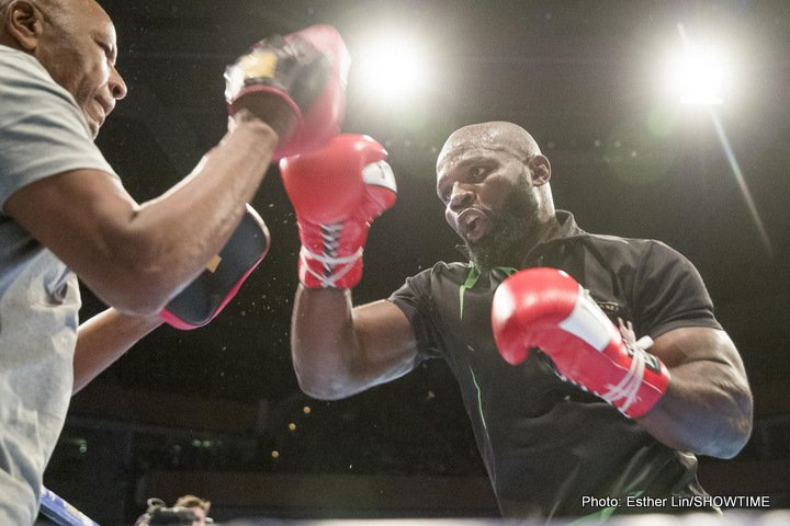 Carlos Takam - Carlos Takam keeps on ticking. Last night in Huntington, New York, the world ranked heavy won his third on the bounce since being stopped by Anthony Joshua and then Dereck Chisora, as he pounded out a ten-round UD over boxer and MMA fighter Fabio Maldonado of Brazil.