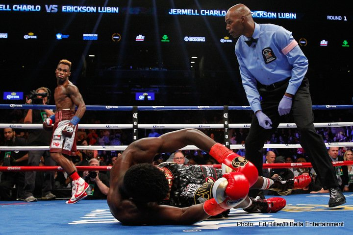 Terrell Gausha - WBA Super Welterweight World Champion Erislandy Lara knocked down previously unbeaten Terrell Gausha en route to a 12-round unanimous decision in the main event of SHOWTIME CHAMPIONSHIP BOXING Saturday on SHOWTIME at Barclays Center.