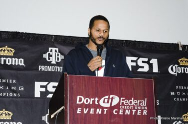 Anthony Dirrell, Denis Douglin - Former world champion Anthony Dirrell spoke to media in his hometown Wednesday in advance of his showdown against Denis Douglin that headlines a Premier Boxing Champions event Friday, November 17 from Dort Federal Credit Union Center in Flint, Michigan and live on FS1 and FOX Deportes.