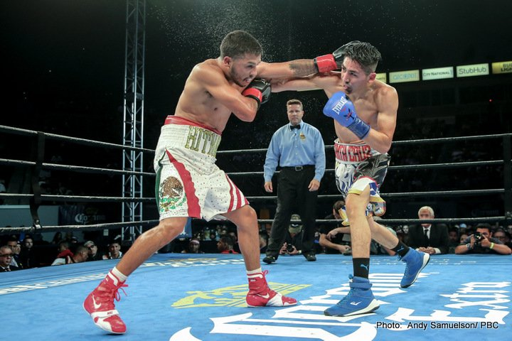 Abner Mares Andres Gutierrez Chris Avalos Leo Santa Cruz Boxing News Boxing Results Top Stories Boxing
