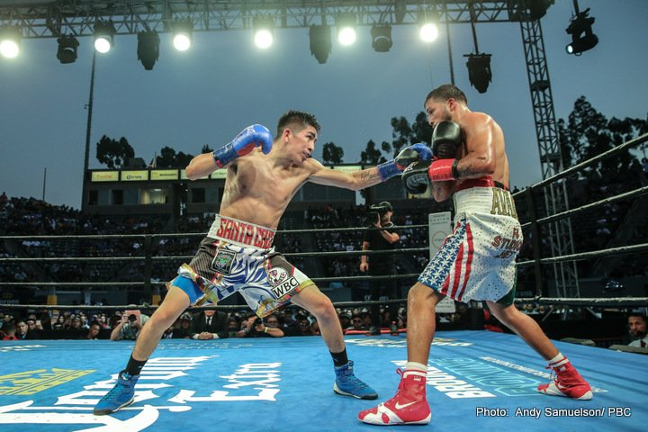 Chris Avalos - Featherweight world champions Leo Santa Cruz and Abner Mares were both victorious in their Premier Boxing Champions on FOX and FOX Deportes fights Saturday night from StubHub Center in Carson, Calif. and officially set up a world championship rematch between the two popular southern California champions in early 2018.