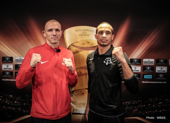 Juergen Braehmer, Rob Brant - Clash of the ages: Braehmer and Brant head-to-head in Schwerin