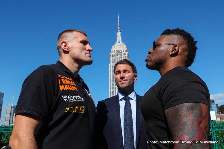 Daniel Jacobs Jarrell Miller Luis Arias Mariusz Wach Boxing News