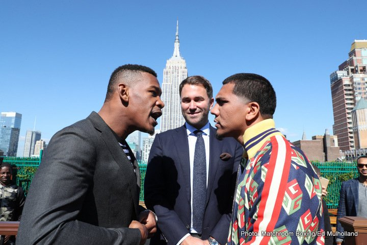 "Luis Arias - Former middleweight titlist Danny Jacobs enjoyed a winning debut under new promoter Eddie Hearn; and Hearn's claim that ""The Miracle Man"" is the second or third best middleweight in the world was very possibly validated last night in New York."