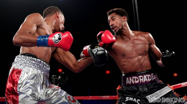 Alantez Fox Demetrius Andrade Boxing News Boxing Results