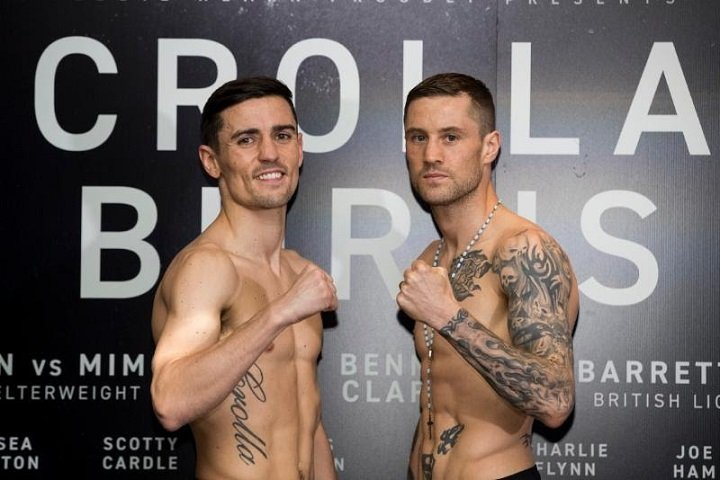 Anthony Crolla Ricky Burns