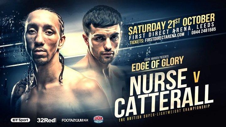 Jack Catterall Tyrone Nurse British Boxing Press Room