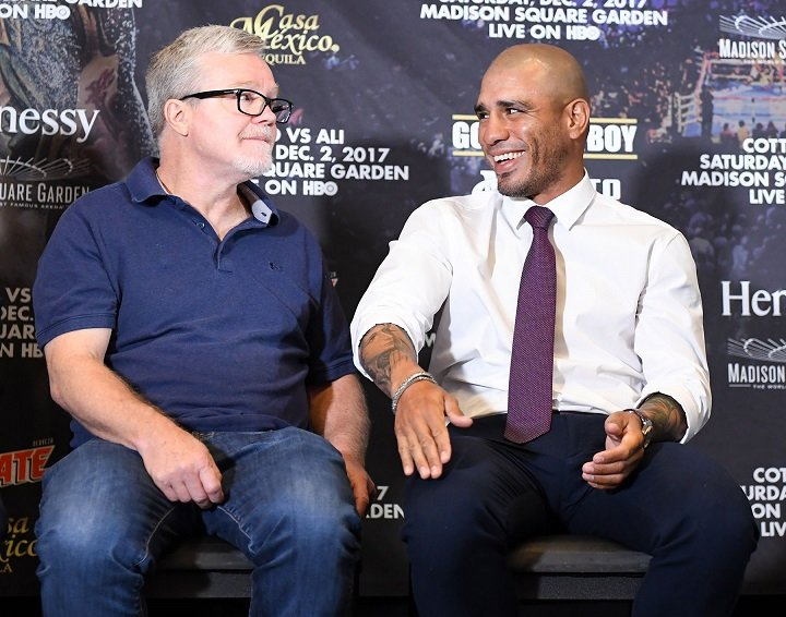Miguel Cotto, Sadam Ali - Boxing News